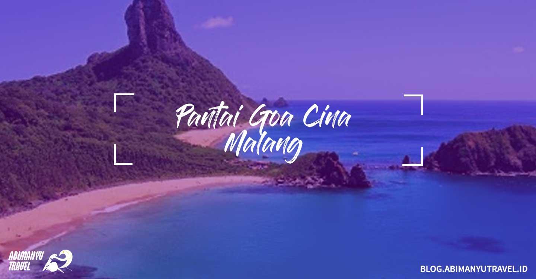 Tempat Wisata Malang Pantai Goa Cina